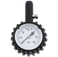 Milwaukee Twins 2″ Tire Gauge
