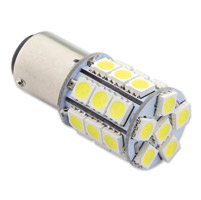 J&P Cycles® 1156 LED Amber Replacement Bulb