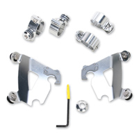 Memphis Shades Gauntlet Fairing Polished Trigger Lock Mount Kit