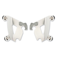Memphis Shades Gauntlet Fairing Polished Mounting Plates Only