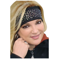 That's A Wrap Dazzle Crystal Fleece Headband