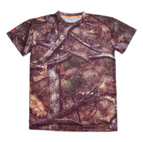 Lethal Threat Backwoods Skull Camo Short-Sleeve T-Shirt