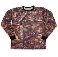 Lethal Threat Women/'s Skull Camo T-Shirt Women/'s Backwoods Black, Small