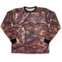 Lethal Threat Backwoods Skull Camo Long-Sleeve T-Shirt