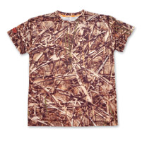 Lethal Threat Saw Grass Skull Camo T-Shirt
