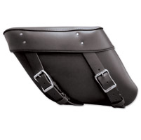 Leatherworks, Inc. Large Wide Angle Economy Throwover Saddlebag