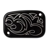 Arlen Ness Black Engraved Front Master Cylinder Cover