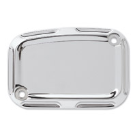 Arlen Ness Chrome Beveled Front Master Cylinder Cover