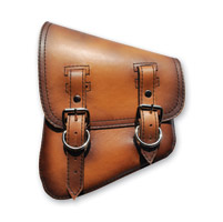 LaRosa Design Left Side Antique Tan Swingarm Bag