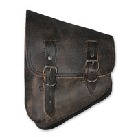 LaRosa Design Left Side Rustic Black Swingarm Bag with Tools