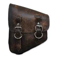 LaRosa Design Left Side Brown Swingarm Bag with Tools