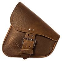 Willie & Max Limited Edition Brown Leather Swingarm Bag