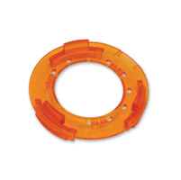 Kuryakyn Replacement Amber Snap Rings for Bullet Style Turn Signals