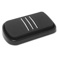 Milwaukee Twins Black Streamliner Brake Pedal Pad