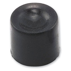 Twin Power Black Short Button Caps