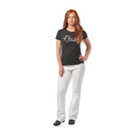 Gravitate Women's White Motorcycle Jeans