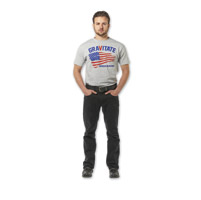 Gravitate Men's Black Motorcycle Jeans