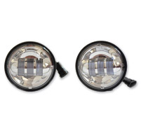 PathfinderLED High Definition Chrome 4-1/2″ LED Passing Lights