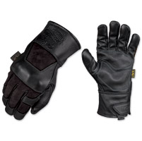 Mechanix Wear Fabricator Black Leather Gloves