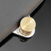 Milwaukee Twins Brass 20 Gauge Shotgun Shell Seat Bolt