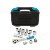 Channellock 16-Piece Uni-Fit Ultra Access Socket Set
