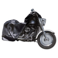 EPIC Black Motorcycle Storage Cover