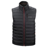 GYDE powered by Gerbing Men's Calor Filled Heated Black Vest