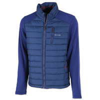 GYDE powered by Gerbing Men's Calor Hybrid Heated Navy Jacket