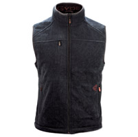 GYDE powered by Gerbing Men's Thermite Fleece Heated Black Vest