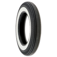 Coker Super Eagle Replica 5.00-16 Wide Whitewall Front/Rear Tire