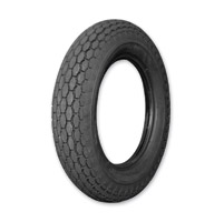 Coker Beck Tread 5.00-16 Wide Whitewall Front/Rear Tire
