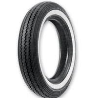 Shinko 240 Classic MT90-16 Wide Whitewall Front/Rear Tire