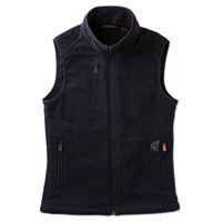 GYDE powered by Gerbing Women's Thermite Fleece Heated Black Vest