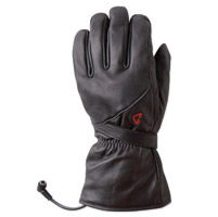 GYDE powered by Gerbing Men's G4 Heated Black Leather Gloves
