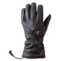 GYDE powered by Gerbing Women's G4 Heated Black Leather Gloves
