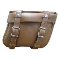 Leatherworks, Inc. Indian Brown Bolt-On Saddlebags