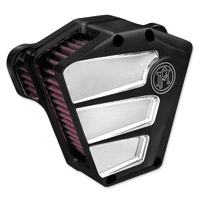 Performance Machine Scallop Air Cleaner Contrast Cut Platinum