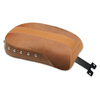 Mustang Brown Vinyl/Leather Insert Studded Passenger Seat