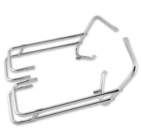 Chrome Saddlebag Guard Rail Dress Up Kit