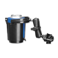 Ram Mount Self Leveling Cup Holder with Bar Mount