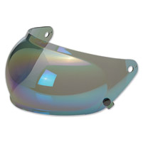 Biltwell Inc. Gringo S Rainbow Mirror Bubble Shield