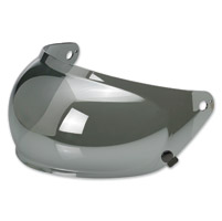 Biltwell Inc. Gringo S Chrome Mirror Bubble Shield