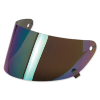 Biltwell Inc. Gringo S Rainbow Mirror Flat Shield