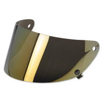 Biltwell Inc. Gringo S Gold Mirror Flat Shield