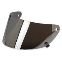 Biltwell Inc. Gringo S Chrome Mirror Flat Shield