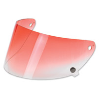 Biltwell Inc. Gringo S Red Gradient Flat Shield