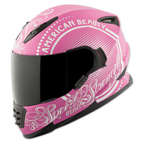 Speed and Strength SS1600 American Beauty Pink Full Face Helmet