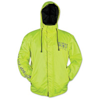 Speed and Strength We, The Fast Hi-Viz Rain Jacket