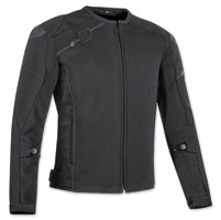 Speed and Strength Men's Lightspeed Black Textile Jacket