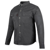 Speed and Strength Men's Last Man Standing Black Moto Shirt Jacket